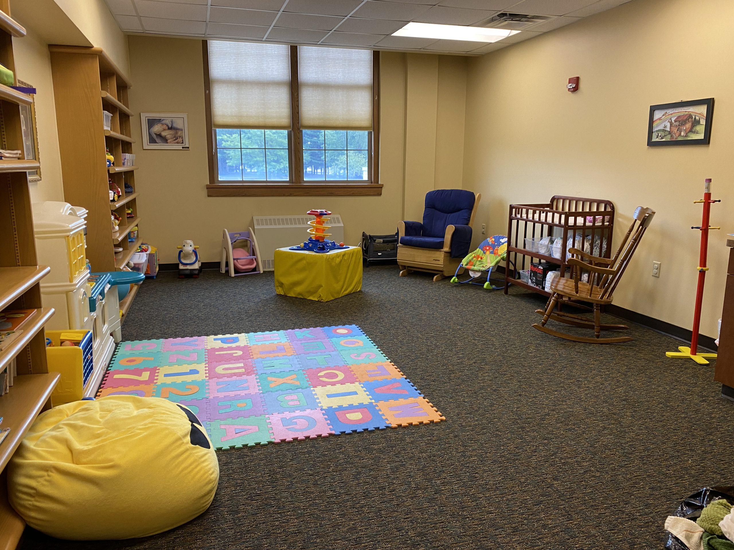 Nursery at First Lutheran Church in Janesville